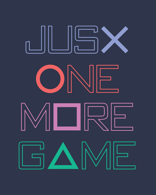 Shop One More Game Full Sleeve T-Shirt