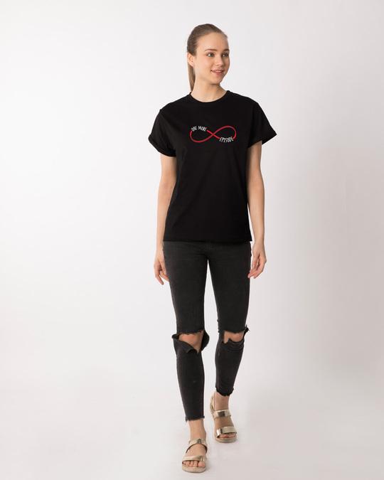 Shop One More Infinity Boyfriend T-Shirt-Design