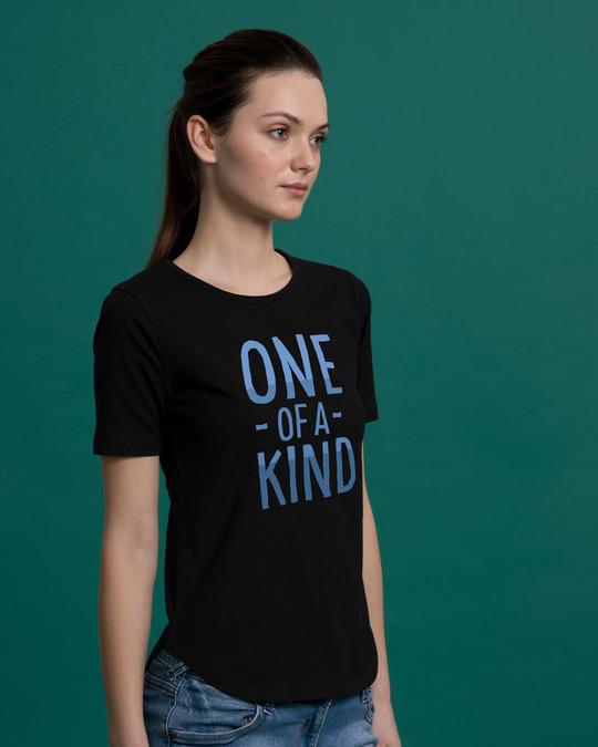 Shop One Of A Kind Basic Round Hem T-Shirt-Back