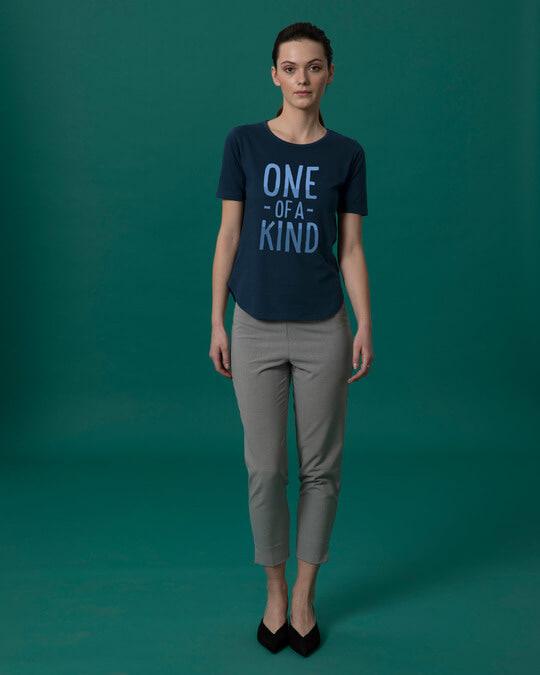 Shop One Of A Kind Basic Round Hem T-Shirt