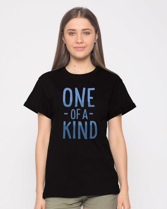 Shop One Of A Kind Boyfriend T-Shirt-Front