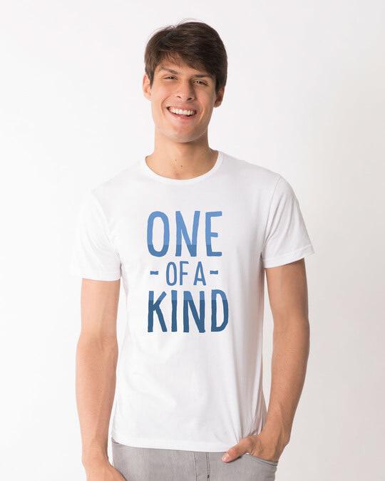Shop One Of A Kind Half Sleeve T-Shirt-Back