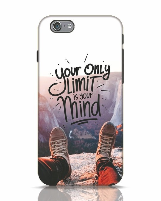 Shop Onlylimitismind iPhone 6s Mobile Cover-Front