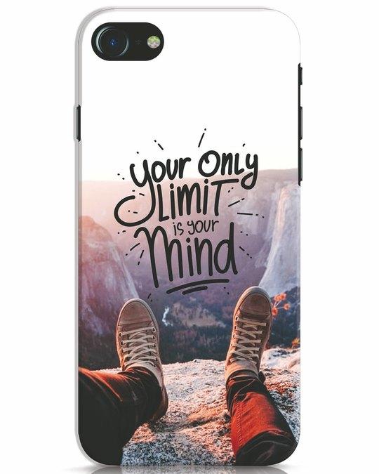 Shop Onlylimitismind iPhone 7 Mobile Cover-Front
