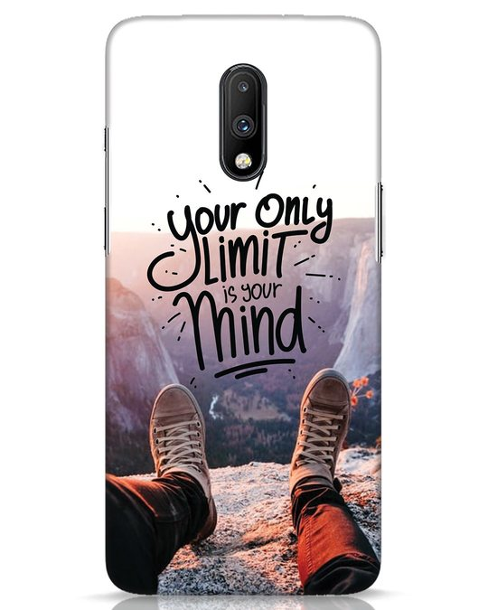Shop Onlylimitismind OnePlus 7 Mobile Cover-Front