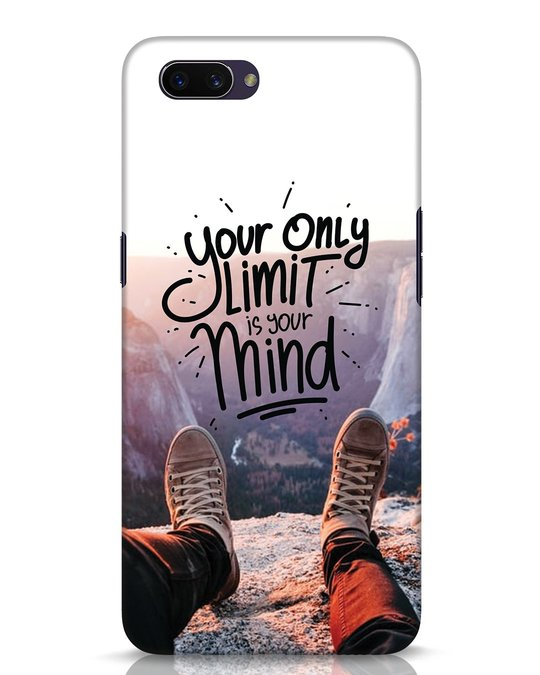 Shop Onlylimitismind Oppo A3S Mobile Cover-Front