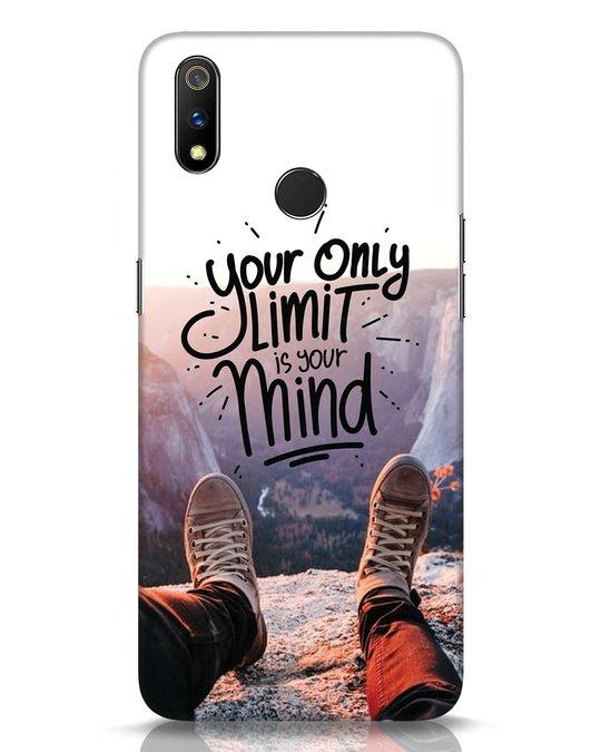 Shop Onlylimitismind Realme 3 Pro Mobile Cover-Front