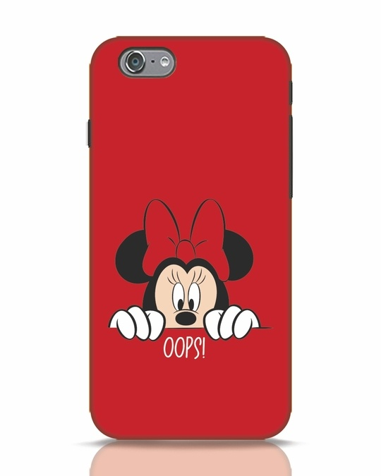 Shop Oops Minnie iPhone 6s Mobile Cover-Front