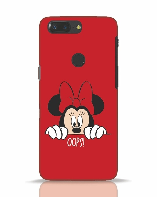 Shop Oops Minnie OnePlus 5T Mobile Cover-Front