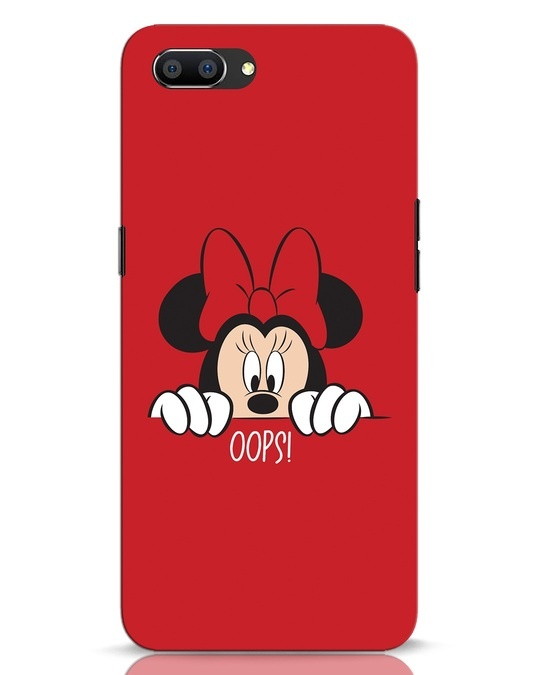 Shop Oops Minnie Realme C1 Mobile Cover-Front