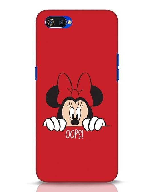 Shop Oops Minnie Realme C2 Mobile Cover-Front