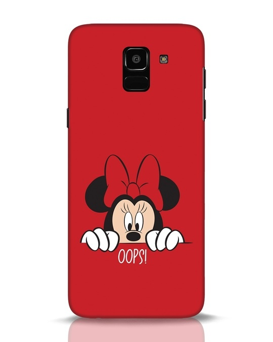 Shop Oops Minnie Samsung Galaxy J6 Mobile Cover-Front