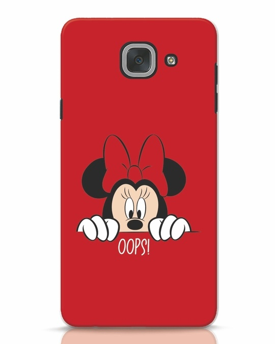 Shop Oops Minnie Samsung Galaxy J7 Max Mobile Cover-Front