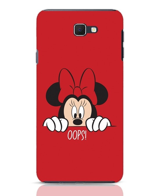 Shop Oops Minnie Samsung Galaxy J7 Prime Mobile Cover-Front