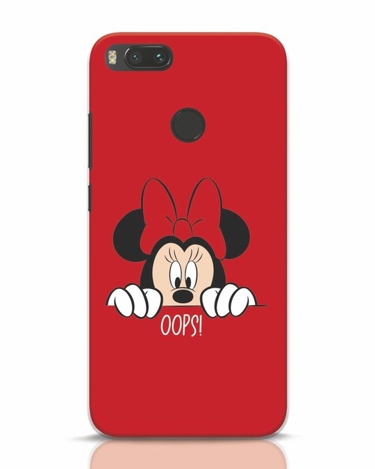 Shop Oops Minnie Xiaomi Mi A1 Mobile Cover-Front