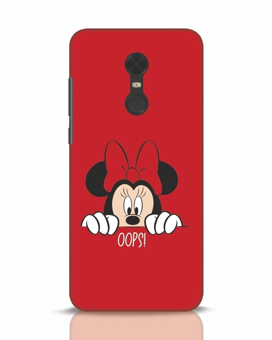 Shop Oops Minnie Xiaomi Redmi Note 5 Mobile Cover-Front