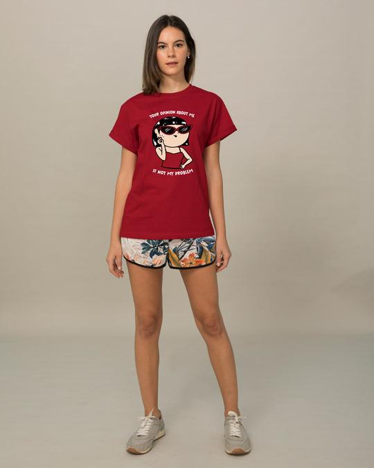 Shop Opinion About Me Boyfriend T-Shirt-Design