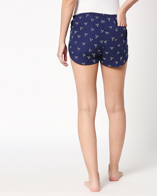 Shop Origami Birds All Over Printed Boxer-Full