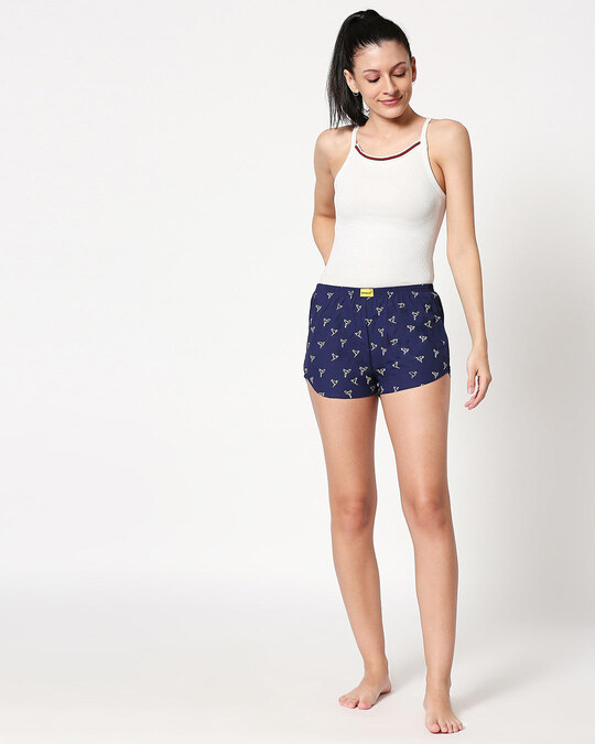 Shop Origami Birds All Over Printed Boxer
