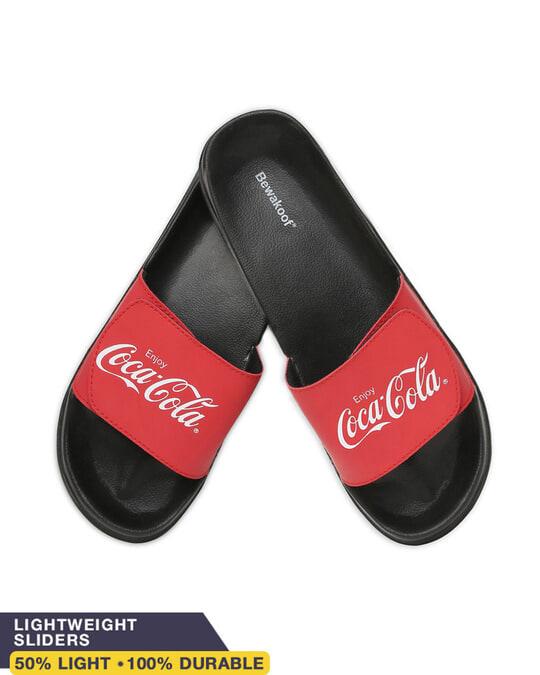 Shop Original Coca-Cola Lightweight Adjustable Strap Women Slider-Front