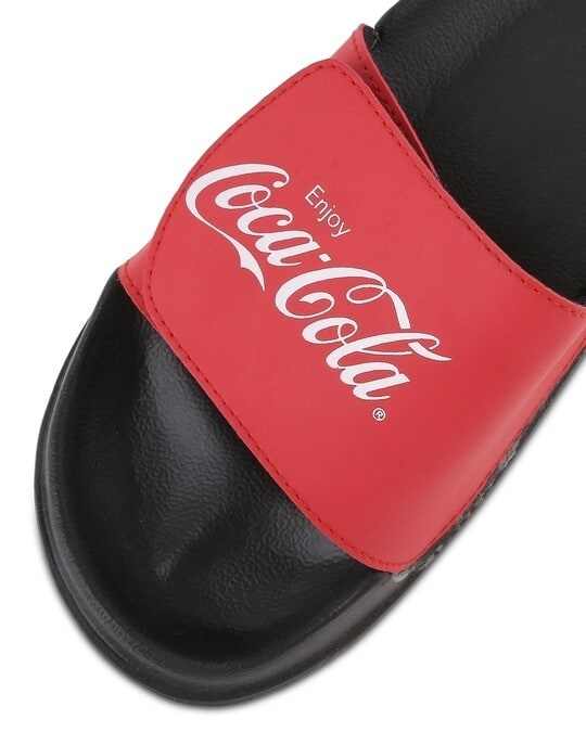 Shop Original Coca-Cola Lightweight Adjustable Strap Women Slider