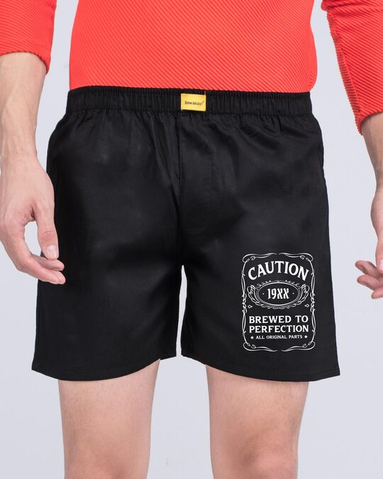 Shop Original Perfection Side Printed Boxer-Front