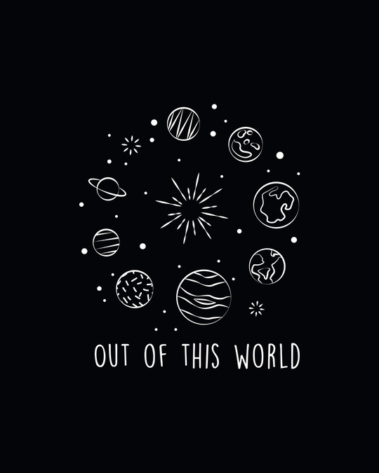 Shop Out Of The World Sweatshirt Hoodie Black-Full