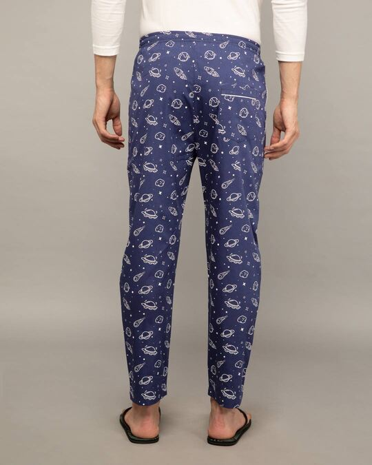 Shop Outer Space All Over Printed Pyjama-Design
