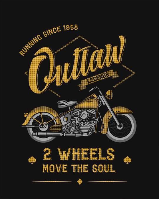 Shop Outlaw Legend Half Sleeve T-Shirt