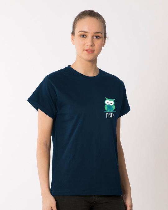 Shop Owl Dnd Boyfriend T-Shirt-Full