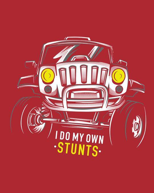 Shop Own Stunts Full Sleeve T-Shirt-Full