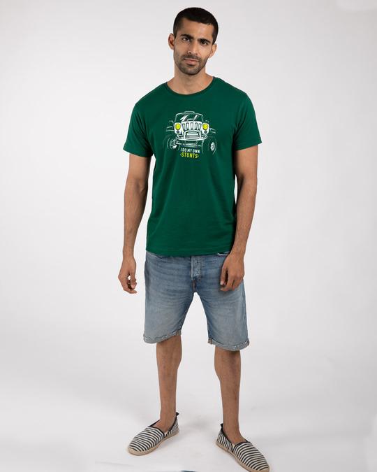 Shop Own Stunts Half Sleeve T-Shirt-Design