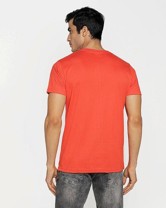 Shop Smoke Red Half Sleeve T-Shirt-Design