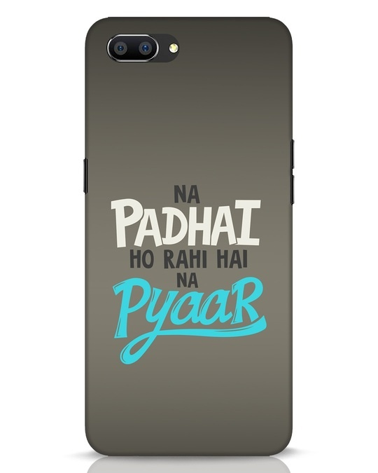 Shop Padhai Na Pyaar Realme C1 Mobile Cover-Front