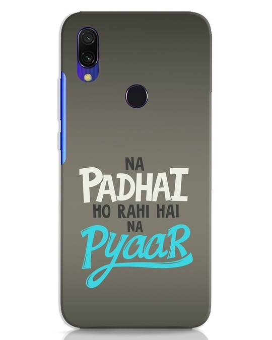 Shop Padhai Na Pyaar Xiaomi Redmi 7 Mobile Cover-Front