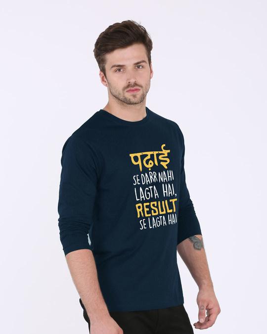 Shop Padhai Se Darr Full Sleeve T-Shirt-Back