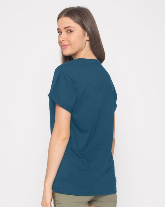 Shop Padhta Kaun Hai? Boyfriend T-Shirt-Full