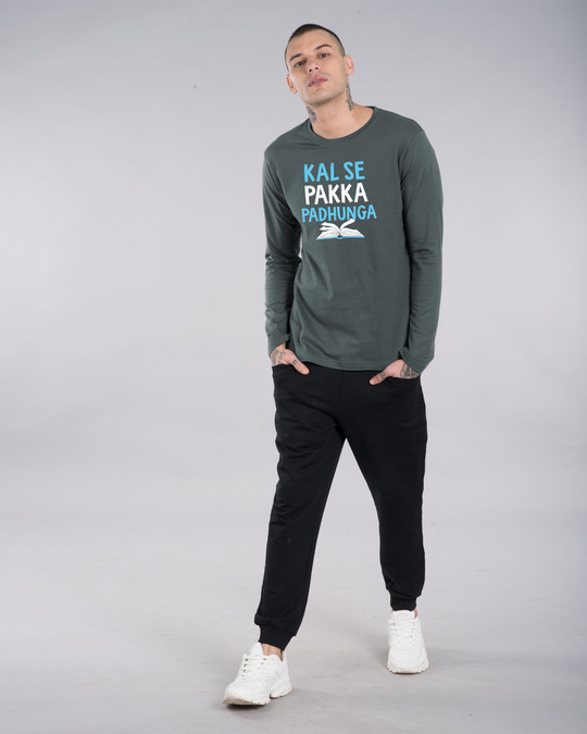 Shop Pakka Padhunga Full Sleeve T-Shirt-Full
