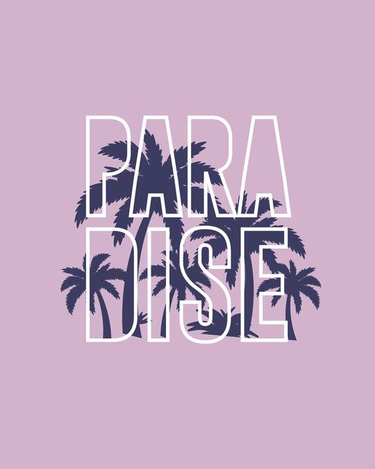 Shop Palm Paradise Scoop Neck Full Sleeve T-Shirt-Full