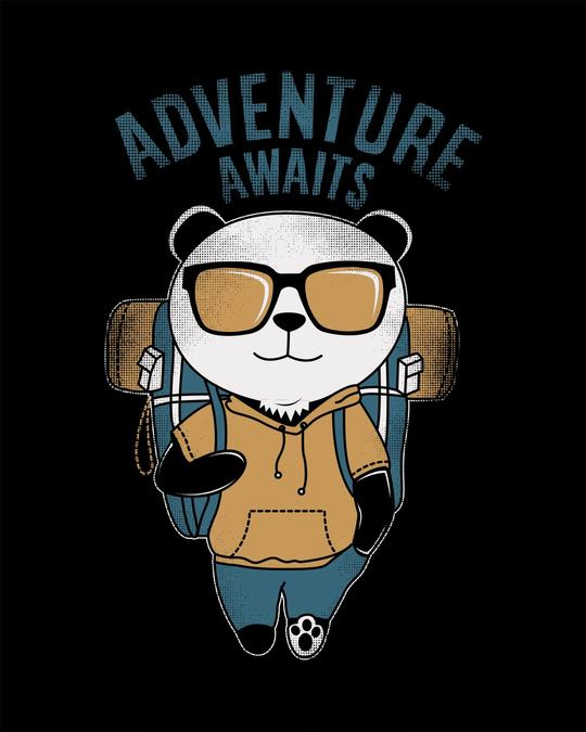 Shop Panda Adventure Full Sleeve T-Shirt