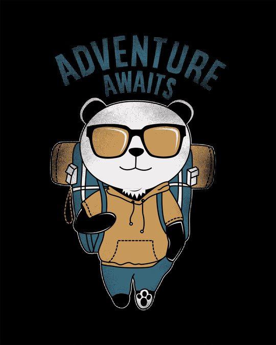 Shop Panda Adventure Half Sleeve T-Shirt