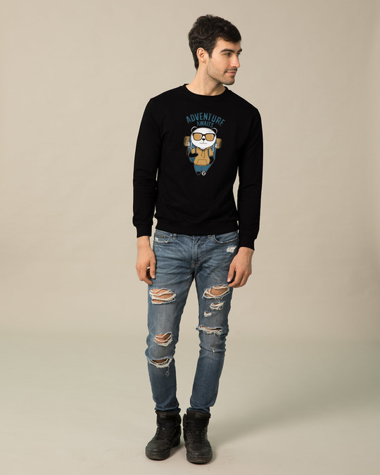 Shop Panda Adventure  Sweatshirt-Full