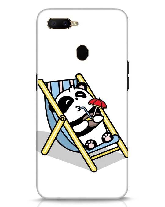 Shop Panda Chilling Oppo A5s Mobile Cover-Front
