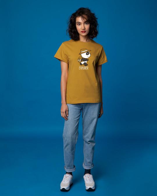 Shop Panda Explorer Boyfriend T-Shirt