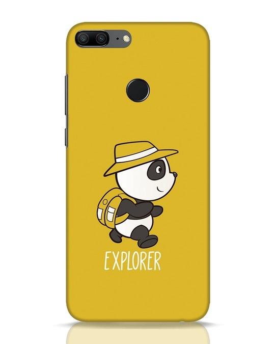 Shop Panda Explorer Huawei Honor 9 Lite Mobile Cover-Front