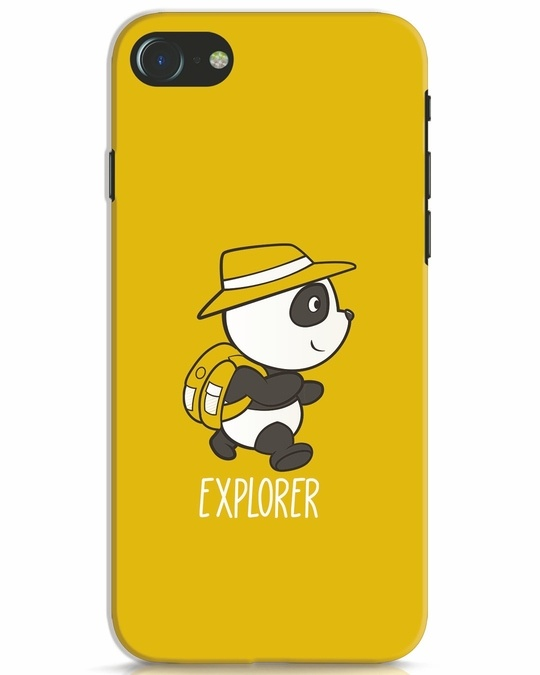 Shop Panda Explorer iPhone 7 Mobile Cover-Front