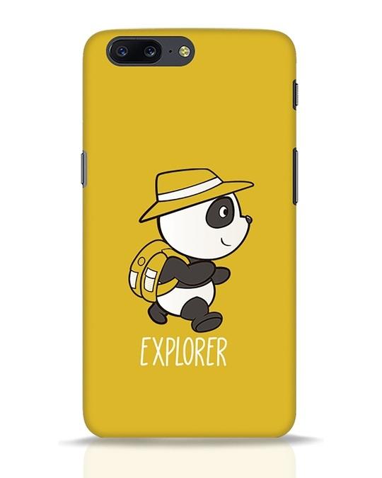 Shop Panda Explorer OnePlus 5 Mobile Cover-Front