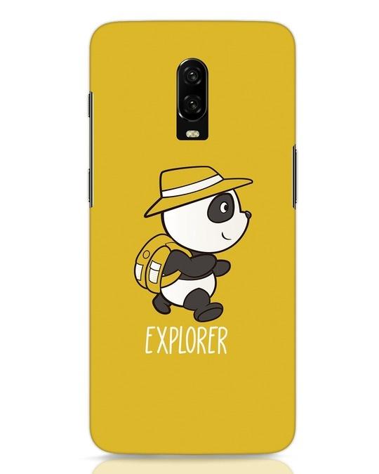 Shop Panda Explorer OnePlus 6T Mobile Cover-Front