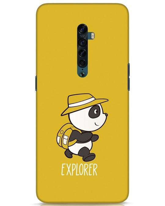 Shop Panda Explorer Oppo Reno 2 Mobile Cover-Front