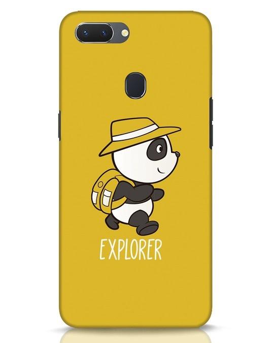 Shop Panda Explorer Realme 2 Mobile Cover-Front